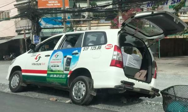 タクシー事故
