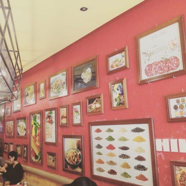 ベトナムにあるパスタのお店
