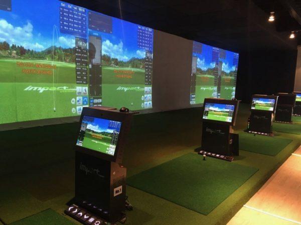 VIPルーム(韓国系ゴルフ練習場)