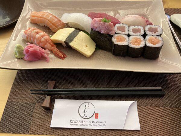 """直輸送マグロがいただける、ニャチャン日本食レストラン""""Kiwami""""にて"""